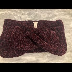 NWOT Free People Chenille Infinity Scarf